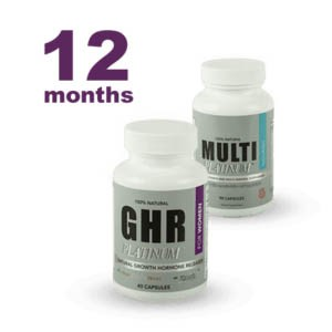 Women's GHR Platinum 1 Year Supply. Ships One Time.