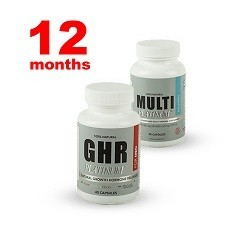 Men's GHR Platinum One Year Supply. Ships One Time.